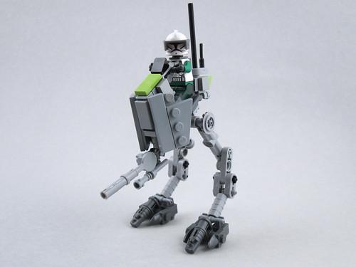 moc:clone wars at-rt - lego star wars - eurobricks forums