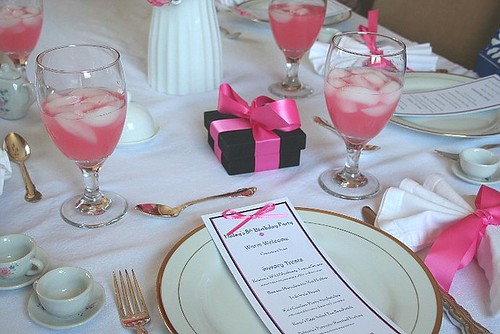 Tea Party Table Settings Ideas : Throwing a tea party – American Girl style  A Beautiful Mosaic