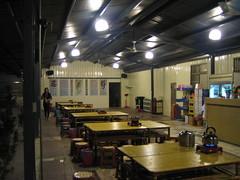 卡多の店.半開放座位區之一