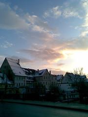 Himmel überm Neckar