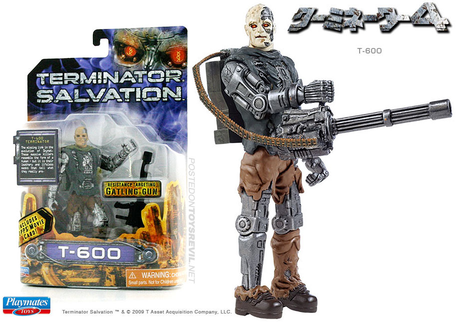 """rare TERMINATOR SALVATION Marcus Playmates toy 2009 Action Figure 3.75/"""" toy gift"""