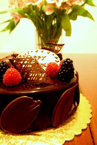 Chocolate mousse cake, Bonbon chocolat 004