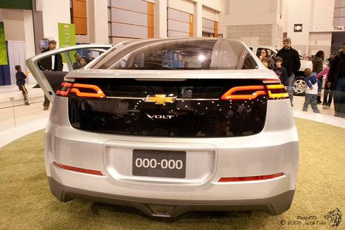 2010 Chevy Volt - Rear,car, sport car