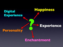 Experience is called many things