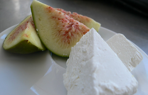 figs and goat cheese by pdugmore2001, on Flickr