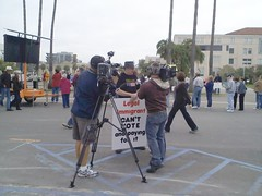 Interview at San Diego Tea Party 2/27/09
