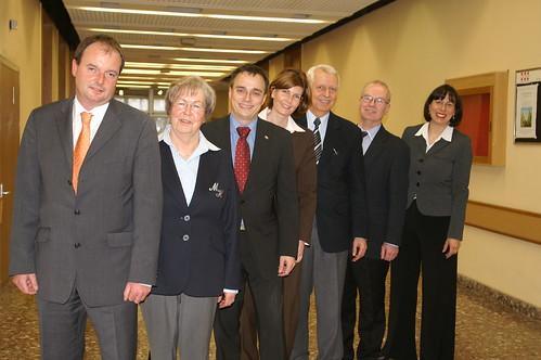 Die Spitzenkandidaten und die CDU Kreisvorsitzende