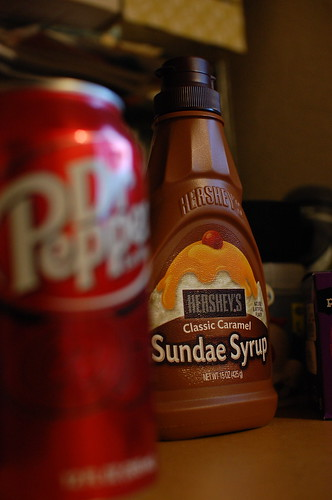 HERSHEY'S & Dr Pepper