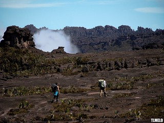 They put a man on the moon - Monte Roraima