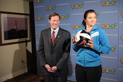 Attorney General Richard Blumenthal and Misty May Treanor (century council) Tags: usa dc washington general may richard listen beach scenes richard council professional century general behind misty may blumenthal athlete volleyball attorney ask learn treanor volleyball attorneys