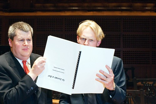 The Composer is Dead (Photo by Contra Costa Times)