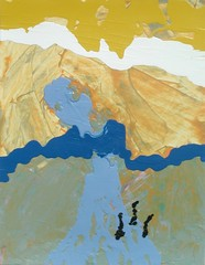 Road to Emmaeus (StewArt Gallery) Tags: road abstract expressionism emmaeus