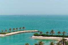 View from room at Sheraton, Doha, Qatar