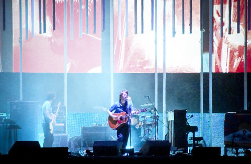 Radiohead en el foro sol br / Foto: flikr