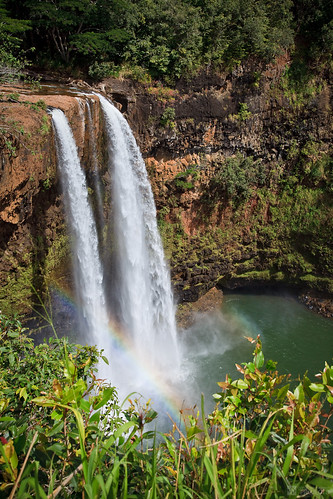 Wailua Falls, Kauai por JeremyHall.