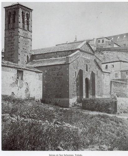 Iglesia de San Sebastián (Toledo) en el siglo XIX