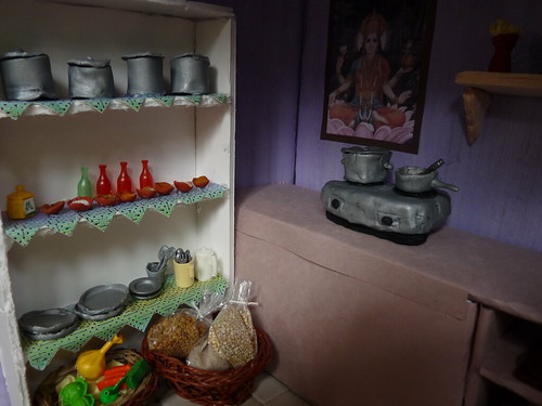indian dollhouse kitchen