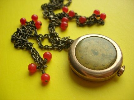 Time Is On My Side Necklace