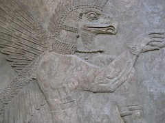 Assyrian carving, British Museum (Niall Corbet) Tags: sculpture london iraq carving relief britishmuseum assyria assyrian