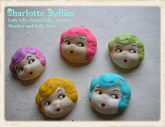 New Supplies: Charlotte Dollies, Rainbow!