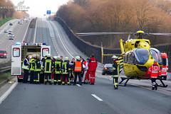 Schwerer Verkehrsunfall A3 höhe Medenbach 21.03.09