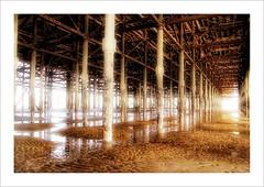 the pier hdr (Maddie Digital) Tags: beach water pier sand lancashire resort blackpool hdr aplusphoto
