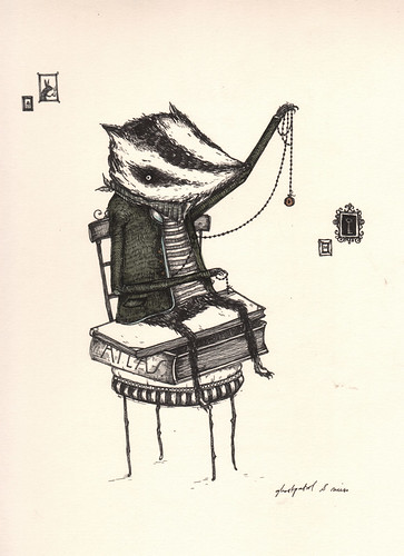 ornamental badger
