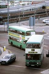 Pier Head (in the background) (georgeupstairs) Tags: bus liverpool alexander pierhead doubledecker leyland 1040 merseyside olympian ecw atlantean mpte an68 merseysidepte a120hlv