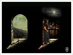 Before & After (Xploi ) Tags: world pakistan light sea copyright moon reflection eye art love night photoshop photography idea nikon asia heart  captured fullmoon passion karachi mid atif d90 xploiter irfancheema nikoncorperation