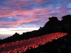 the baboon (pavian) above the lava (╬Thomas Reichart ╬) Tags: volcano lava etna vulkan ätna
