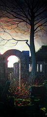 John Henry's Arch (Rick_Dickinson) Tags: landscape farm derelict oilpainting rickdickinson crowlanestudio daltonlancashire