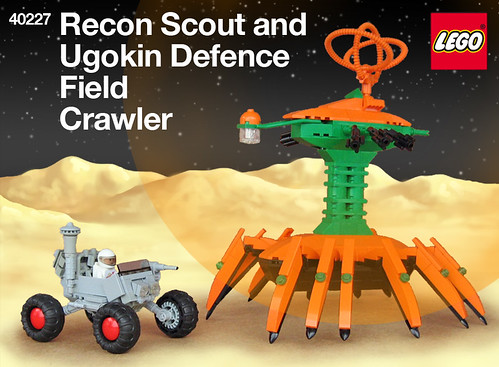 Ugokin Crawler prepares to destroy federation recon
