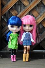 Quinne loves her sister Pixie!