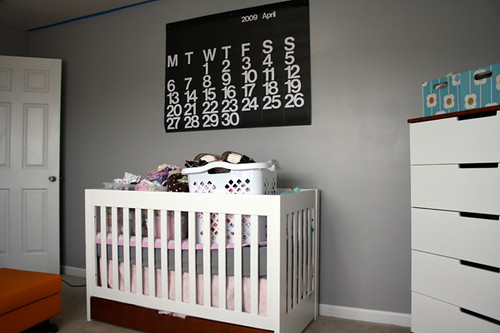 Nursery in the Making - Wall 2