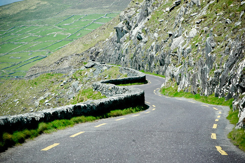 Ireland Winding Road