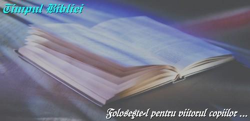 Banner Timpul Bibliei