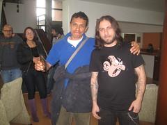 Oyentes de radinica conocen a Opeth - abril 1 2009 001 (radionica) Tags: opeth radionica