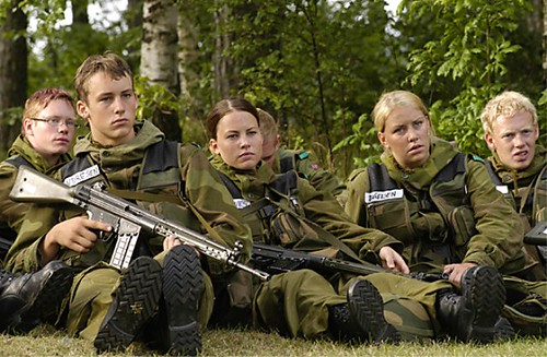 Both Sexes Called To Arms as Norway Conscripts Girls