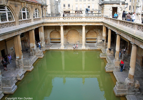 England Bath Roman Baths