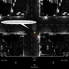 The Great Red Herring Chase [action screenshot] (aeiowu) Tags: driving taxi intuition taxicabs filmnoir flashgames detectives redherringchase jiggmin