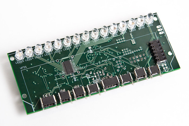 Steering Wheel PCB Front