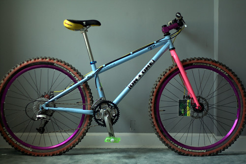 Casey's clown mountain bike deluxe