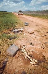 Dầu Tiếng - Tây Ninh, một bộ xương khô bên đường (manhhai) Tags: road people skeleton 1 war asia southeastasia battle vietnam bones historicevent asianhistoricalevent northamericanhistoricalevent unitedstateshistoricalevent vietnamwar19591975 vietnamesehistoricalevent unpavedroad