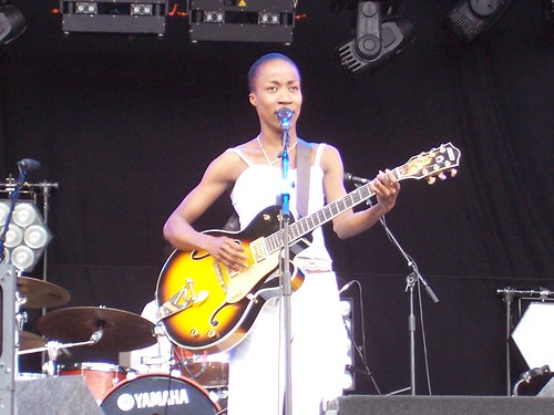 Rokia Traore @ Lovebox, London 19/07/09