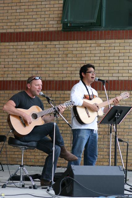 David S Rayo and Friend @ Ribfest