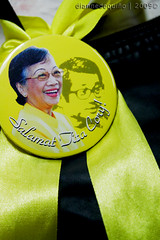Last Farewell to Cory Aquino (ddiannelouise) Tags: history yellow last photography philippines farewell revolution ribbon cory corazon aquino edsa ninoy coryaquino benigno corazonaquino
