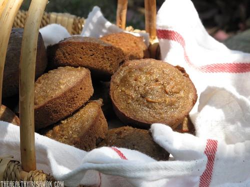 Banana Buckwheat Muffins