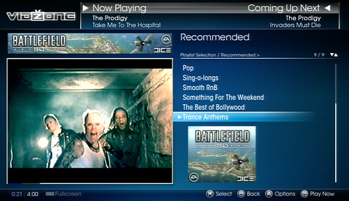 VidZone Playlists THE PRODIGY 2
