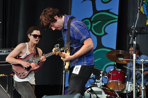 Land of Talk at Ottawa Bluesfest 2009