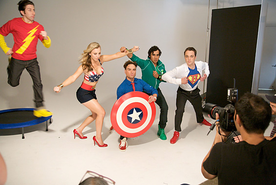The Big Bang Theory heroes TvGuide